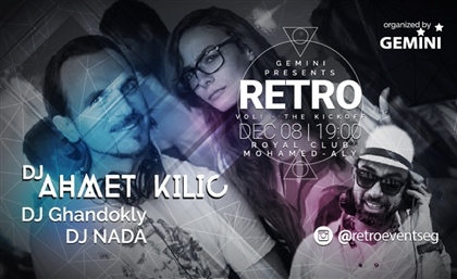 All The Details From The Huge RETRO Bash at Royal Club Mohamed Aly