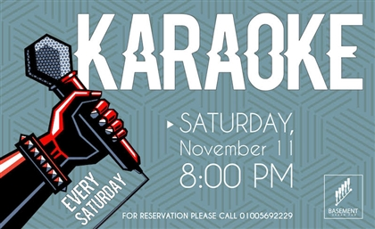 Karaoke Finds a New Home in Cairo, It's Saturday Night at Basement Urban Pub