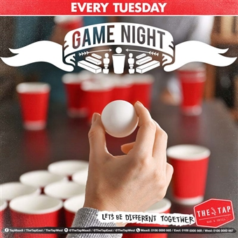 Game Night @ The Tap East