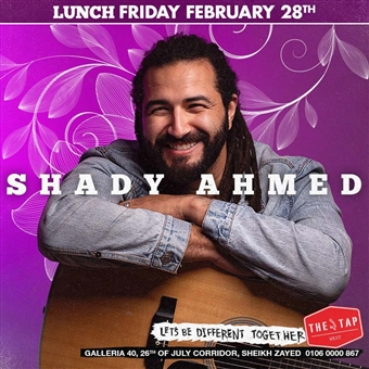 Lunch Ft. Shady Ahmed @ The Tap West