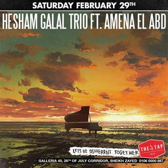 Hesham Galal Trio  @ The Tap West