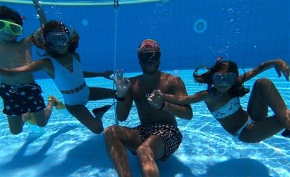 Egypt's Blue Odysea Teaches Underwater Meditation