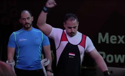 Powerlifter Mahmoud Attia Wins Silver at Tokyo 2020 Paralympics