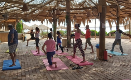 This Yoga Retreat Brings You to the Red Sea Shores of Egypt's Soma Bay