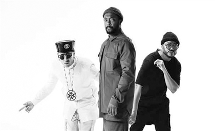 Here's Your Reminder That Black Eyed Peas are Playing at the Pyramids