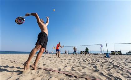 Alexandria Gets Egypt's First Beach Dedicated to Racketball
