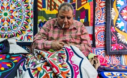 Egyptian Handicrafts Showcased in Turathna Exhibition