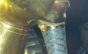 Egyptian Museum Opens Doors to Press to Cover King Tut's Mask Repair
