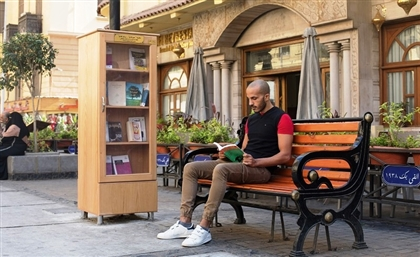 New Local Initiative Sets Up Free-For-All Book Stands in Downtown Cairo